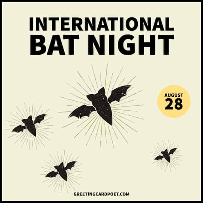 International Bat Night meme