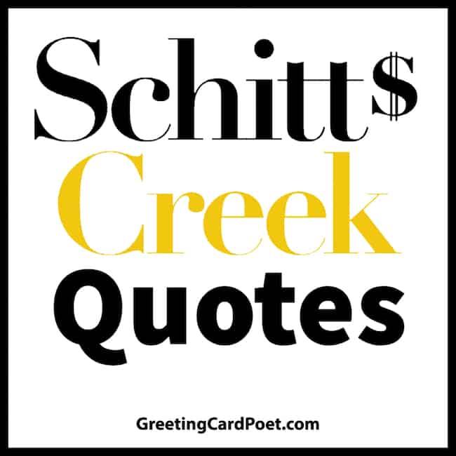 Schitts Creek Meme