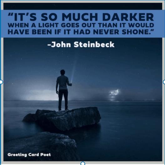 Steinbeck quote on despair