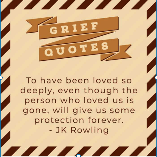 Important grief quotes