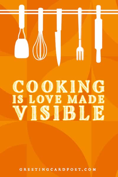 Cooking is Love Made Visible Image