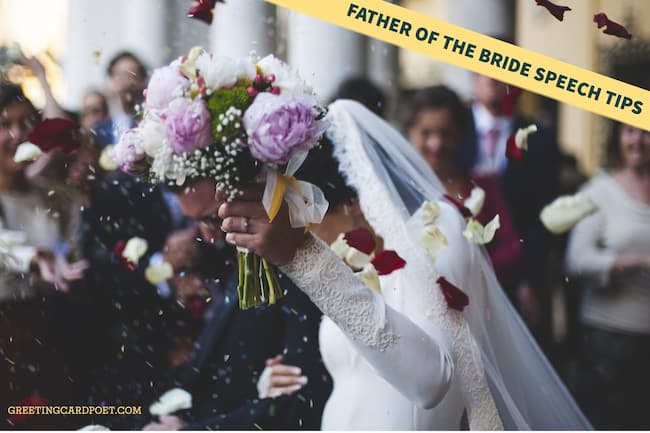 Father of the Bride Speech Tips
