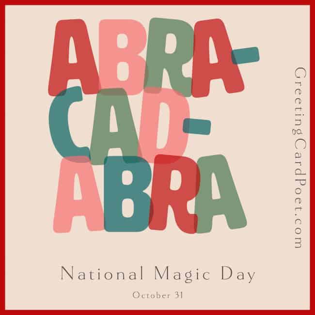 National Magic Day